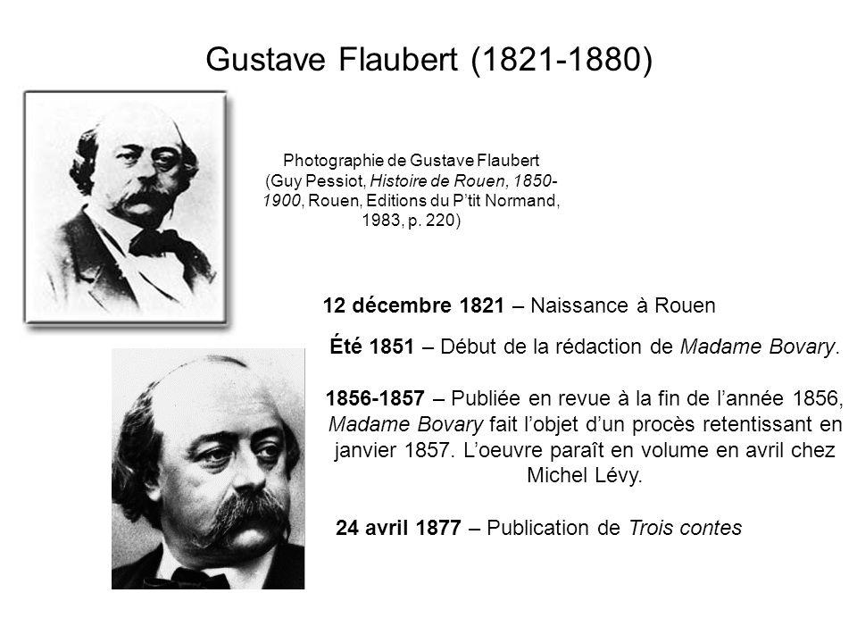 Gustave Flaubert (1821-1880) Photographie de Gustave Flaubert (Guy Pessiot, Histoire de Rouen, 1850- 1900, Rouen, Editions du Ptit Normand, 1983, p.