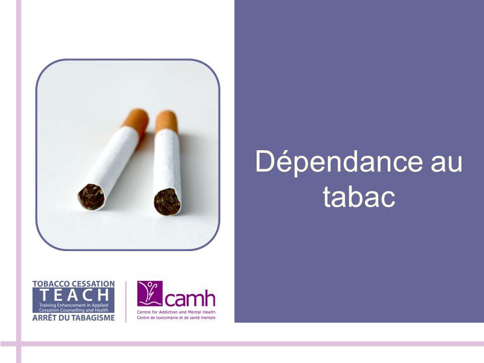 Dépendance au tabac