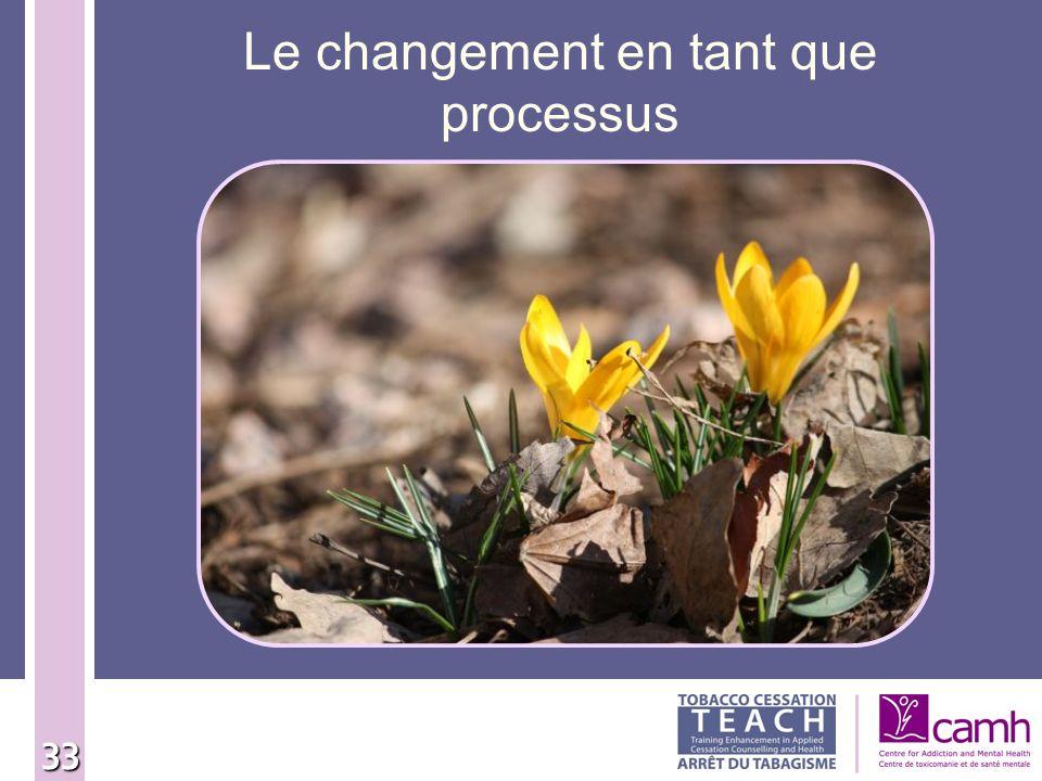 33 Le changement en tant que processus