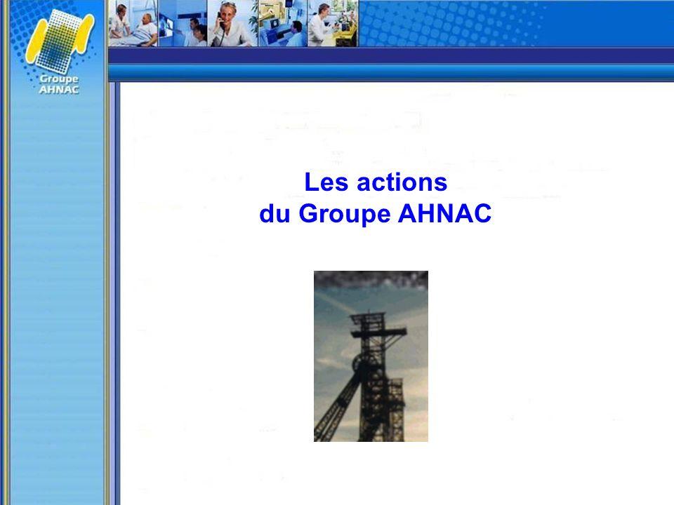 Les actions du Groupe AHNAC