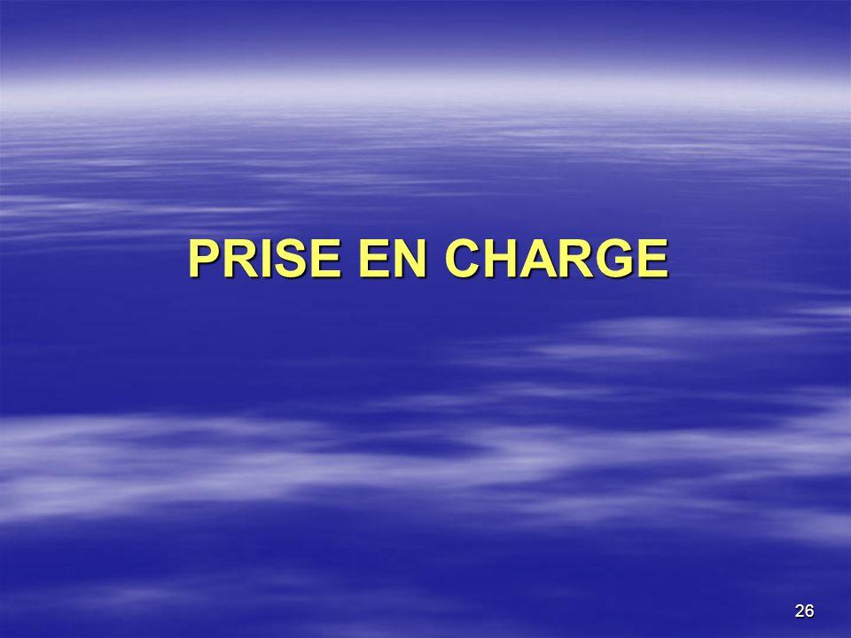 26 PRISE EN CHARGE