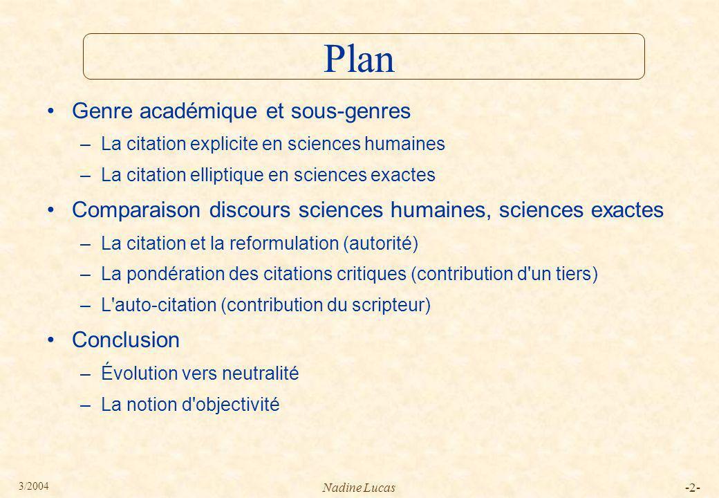 3/2004 Nadine Lucas-3- Dès le début, le vote Le Pen est composite.