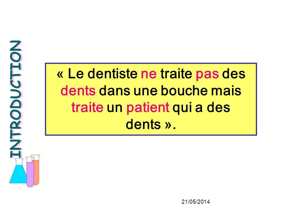 Les pathologies bucco-dentaires et certaines thérapeutiques.