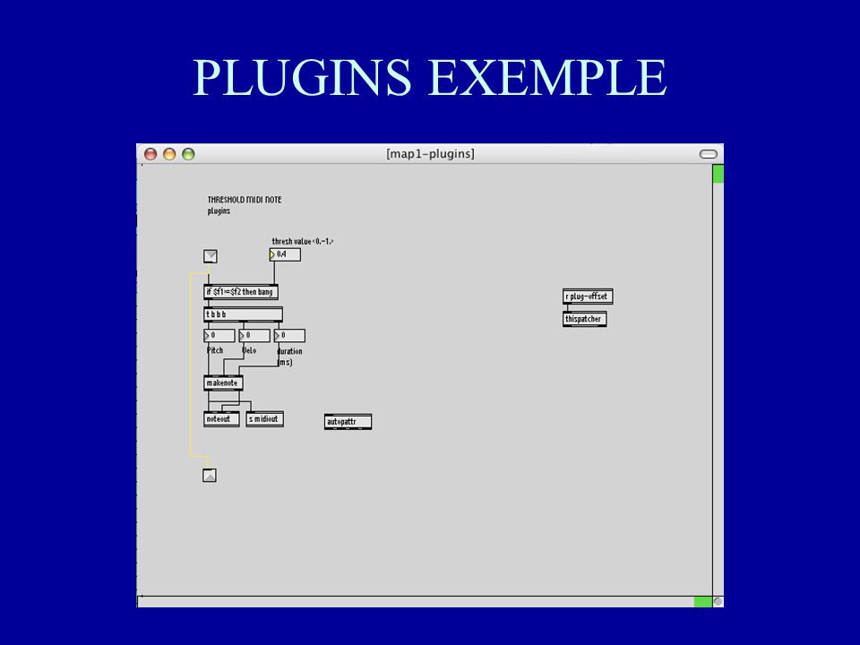 PLUGINS EXEMPLE