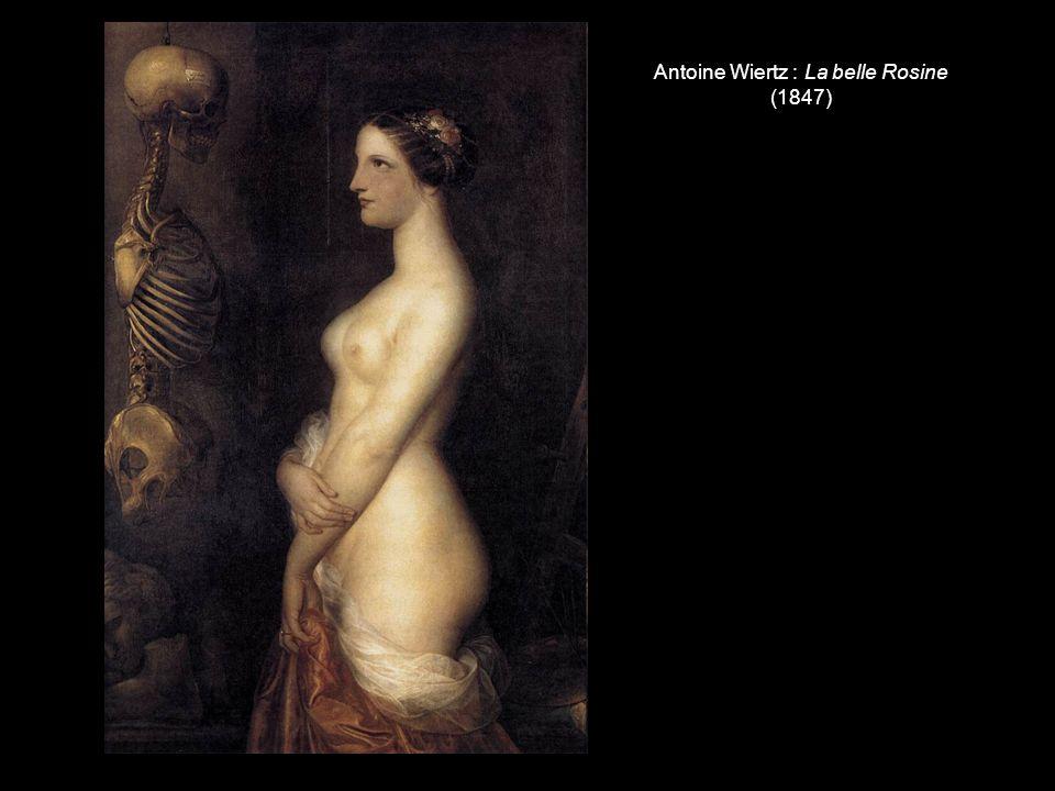 Antoine Wiertz : La belle Rosine (1847)