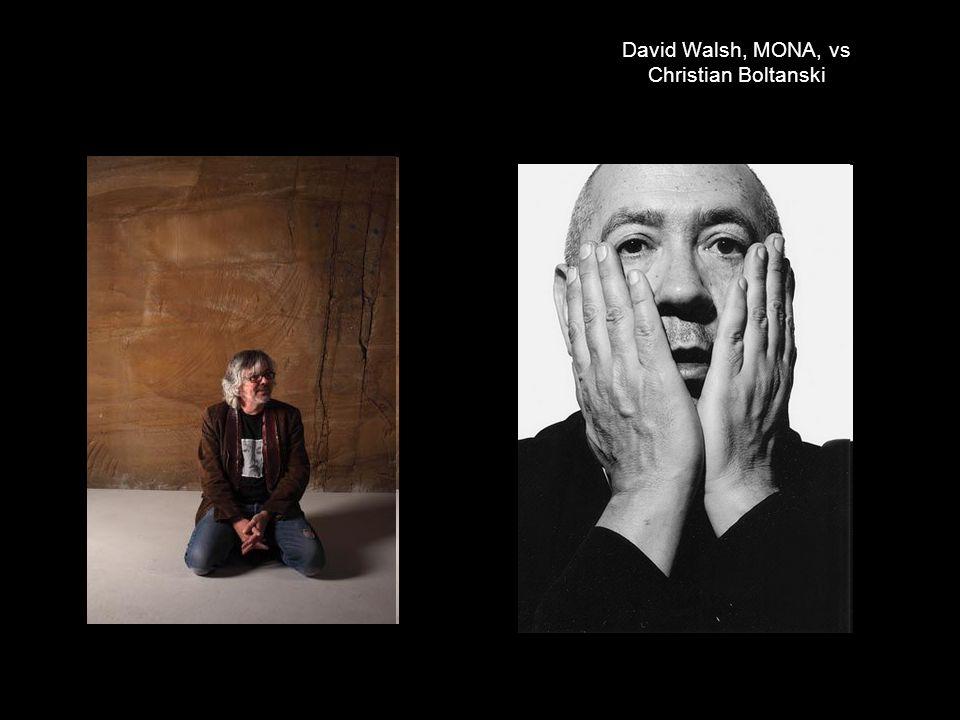 David Walsh, MONA, vs Christian Boltanski