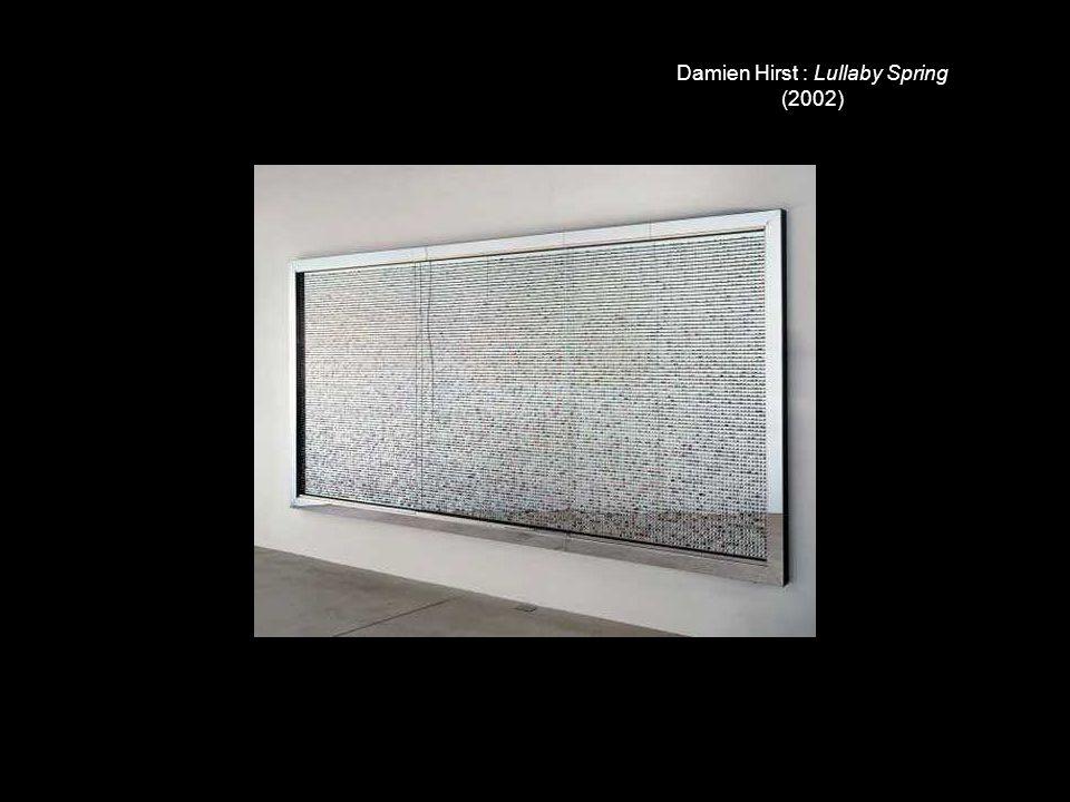 Damien Hirst : Lullaby Spring (2002)