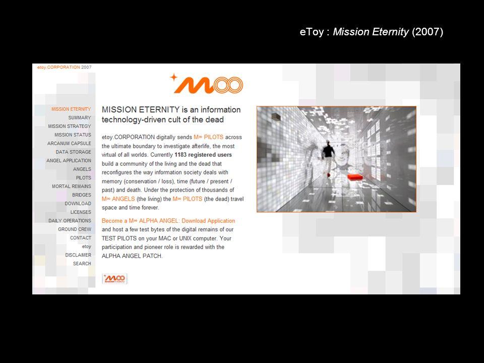 eToy : Mission Eternity (2007)