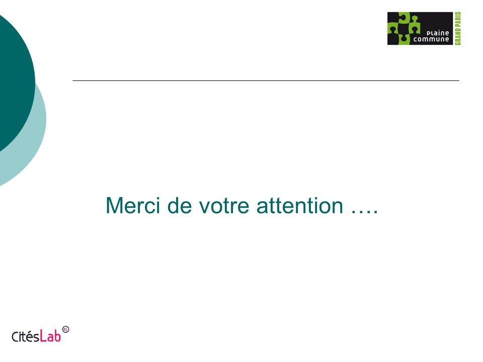 Merci de votre attention ….