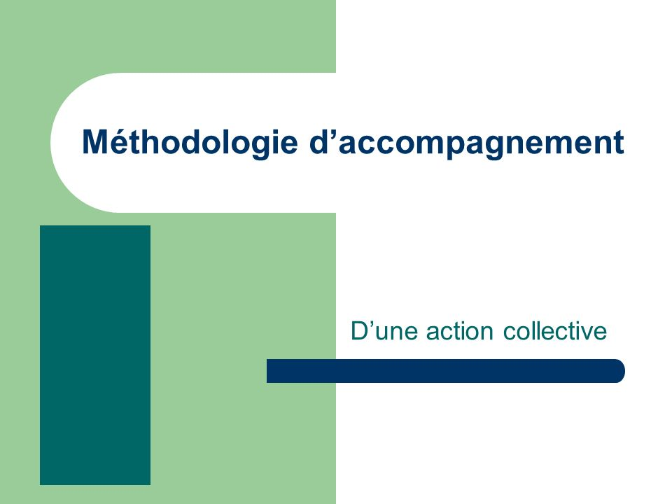 Méthodologie daccompagnement Dune action collective