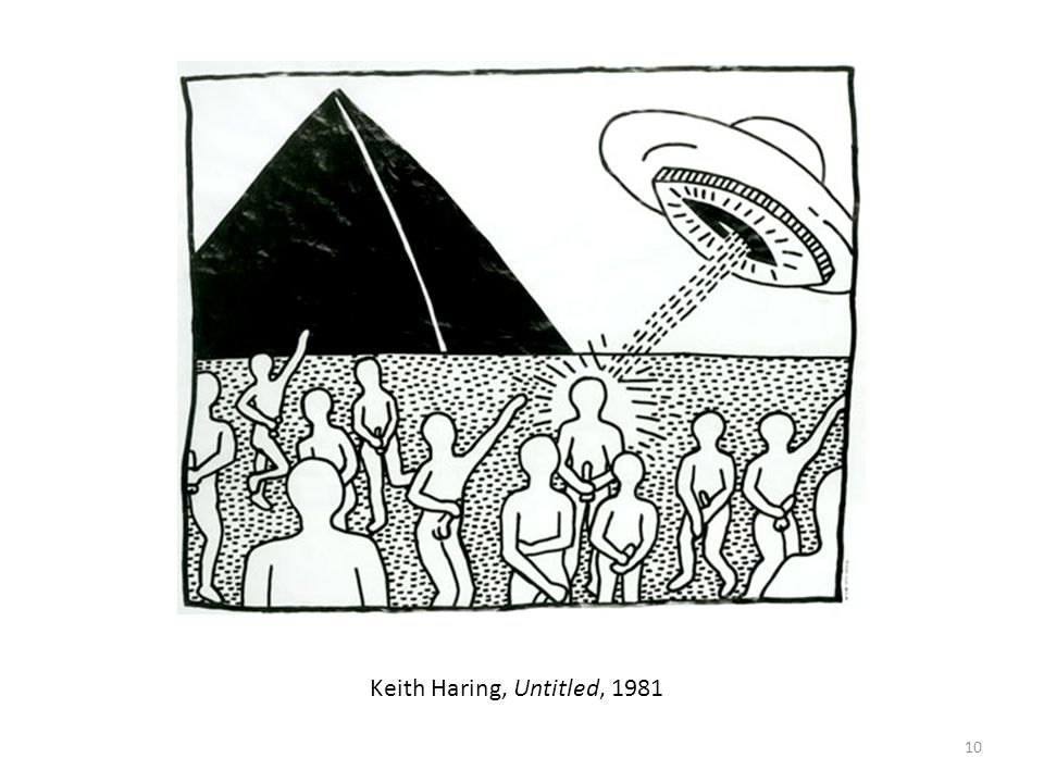 10 Keith Haring, Untitled, 1981