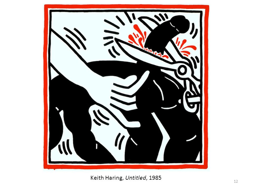 12 Keith Haring, Untitled, 1985