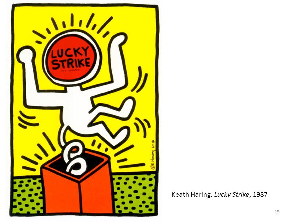 15 Keath Haring, Lucky Strike, 1987
