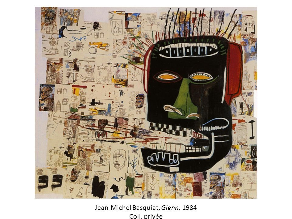 Jean-Michel Basquiat, Glenn, 1984 Coll. privée