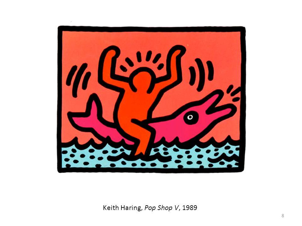 19 Keith Haring & 500 enfants des écoles publics de Chicago, Untitled, 1989