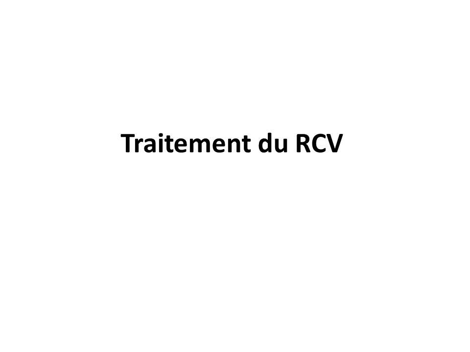 Traitement du RCV