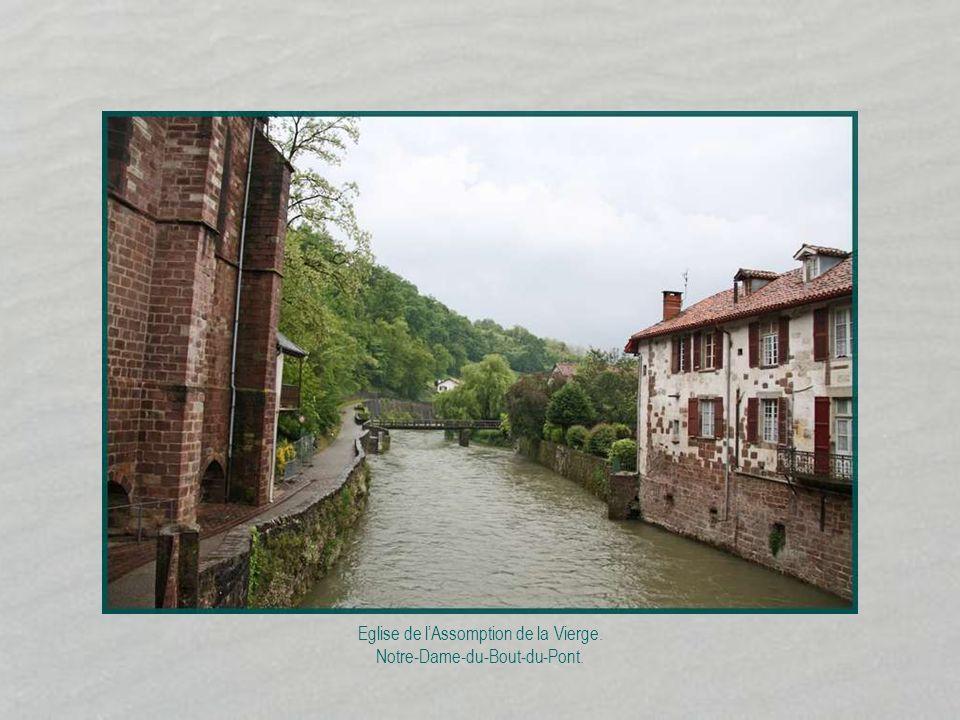 Rivière : la Nive.