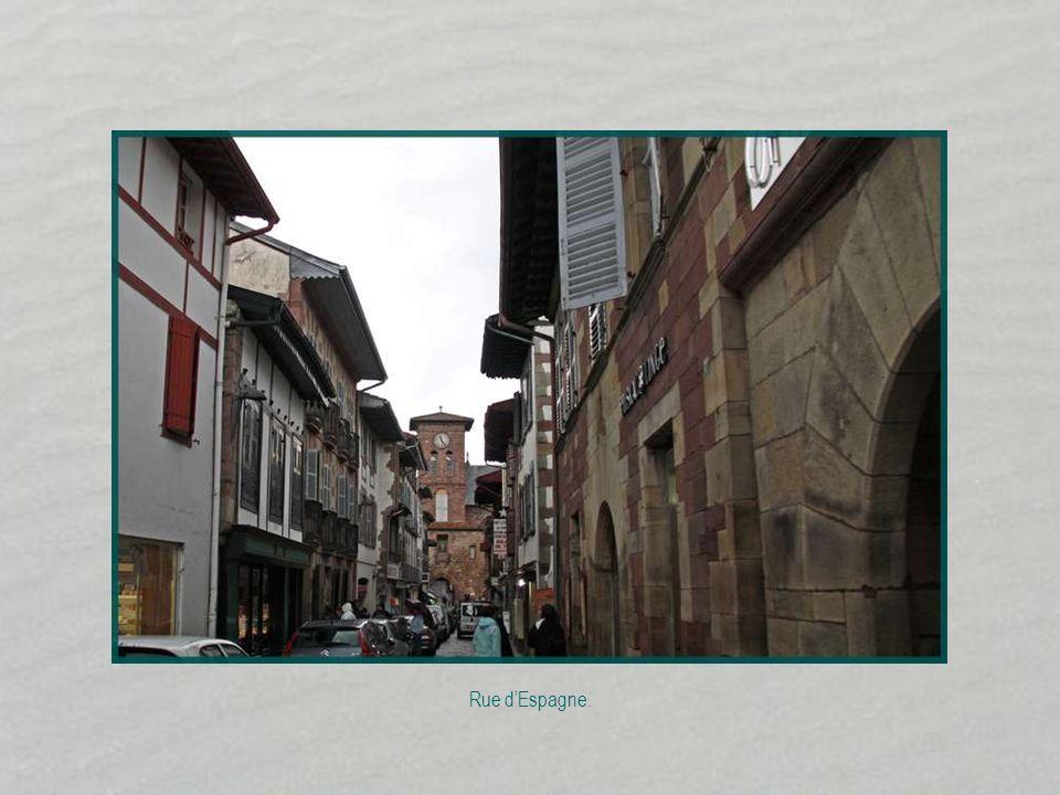 Rue dEspagne.