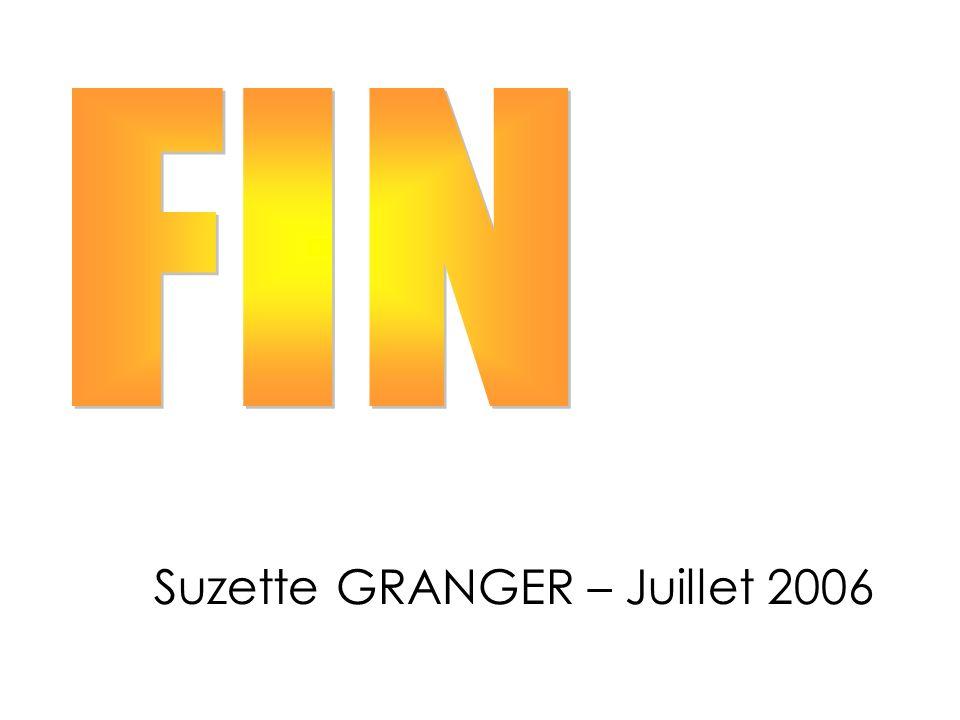 Suzette GRANGER – Juillet 2006