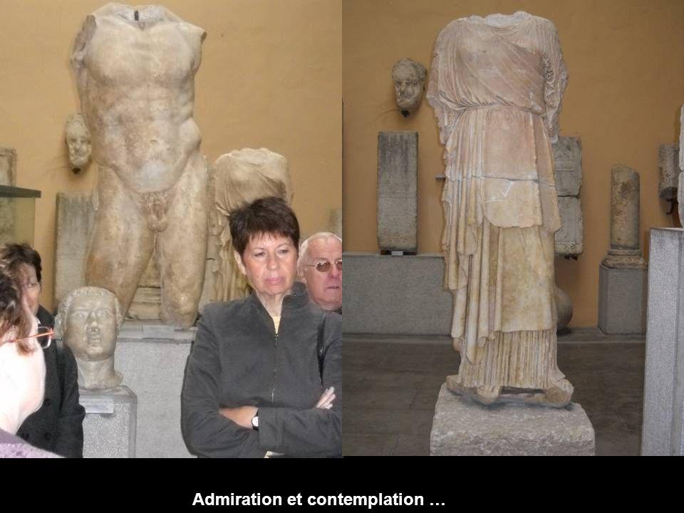 Admiration et contemplation …