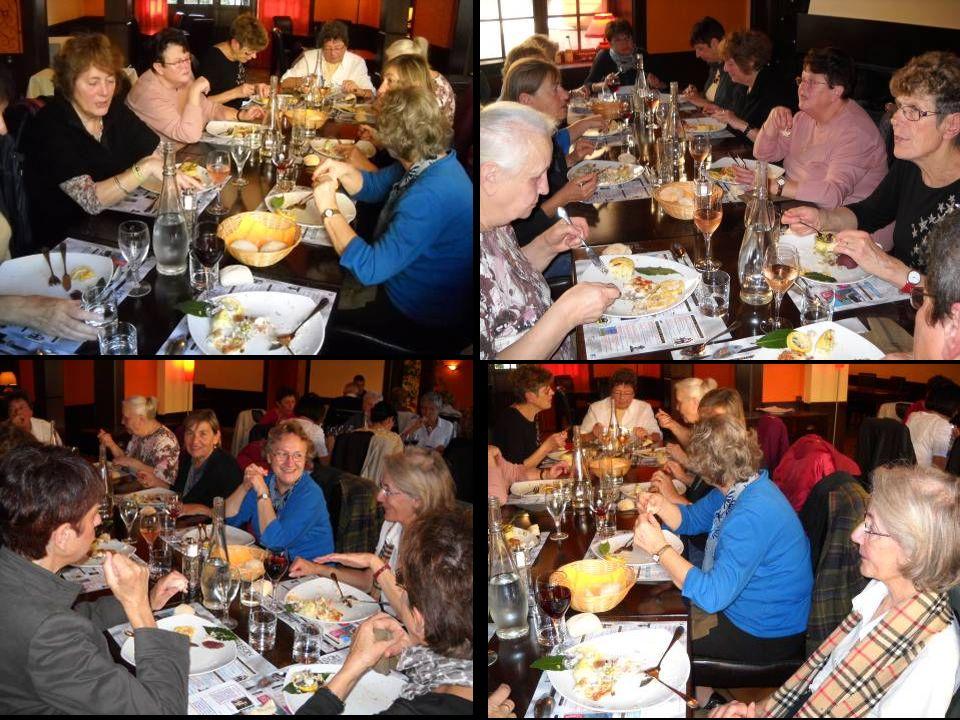 Au restaurant de lHôtel DAVAT nous attendait un superbe Repas dAutomne