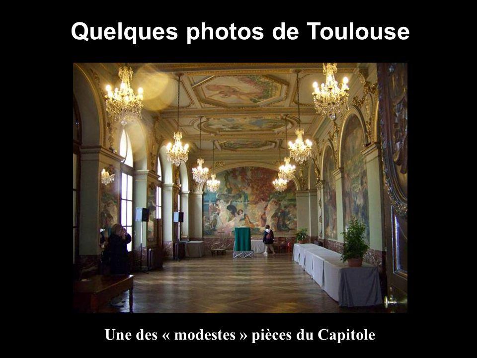 Quelques photos de Toulouse Une des « modestes » pièces du Capitole