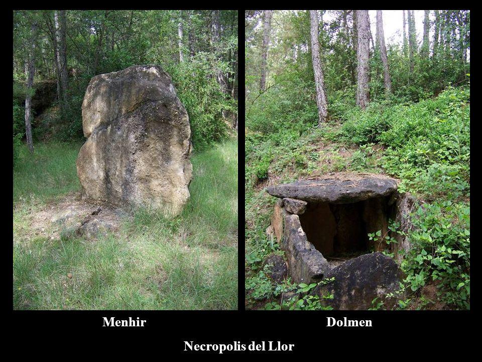 Menhir Dolmen Necropolis del Llor