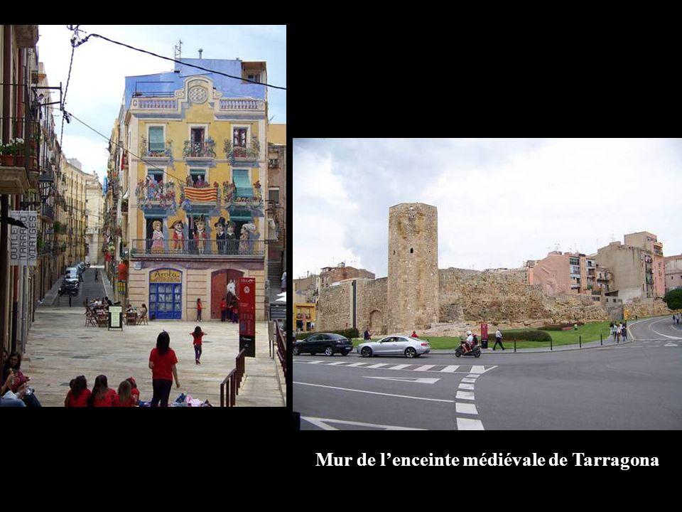 Mur de lenceinte médiévale de Tarragona