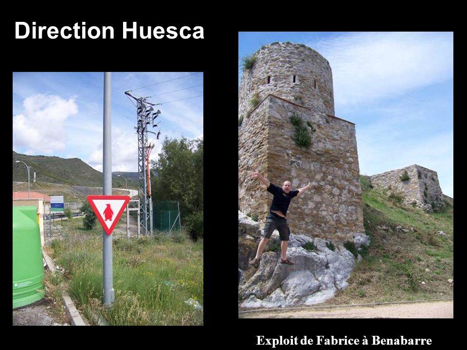 Exploit de Fabrice à Benabarre Direction Huesca