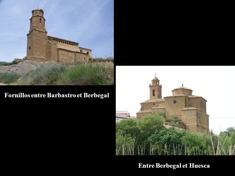 Entre Berbegal et Huesca Fornillos entre Barbastro et Berbegal