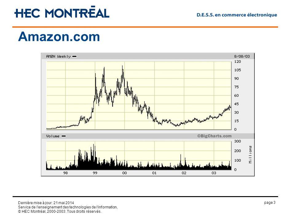 page 3 Dernière mise à jour: 21 mai 2014 Service de l'enseignement des technologies de l'information, © HEC Montréal, 2000-2003. Tous droits réservés.