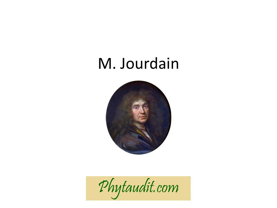 M. Jourdain Phytaudit.com
