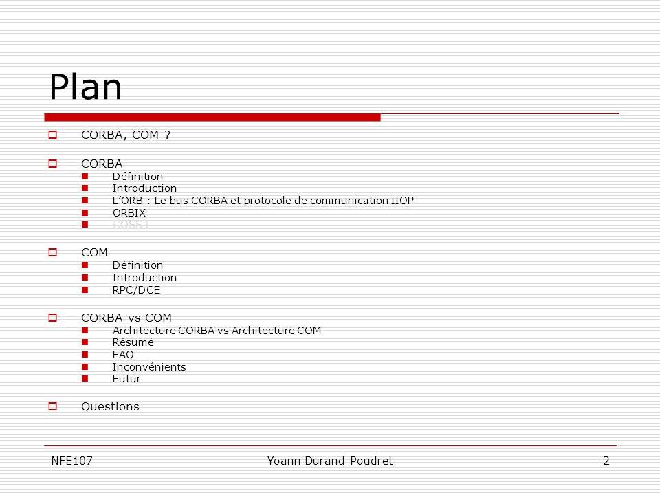 NFE107Yoann Durand-Poudret3 CORBA COM .