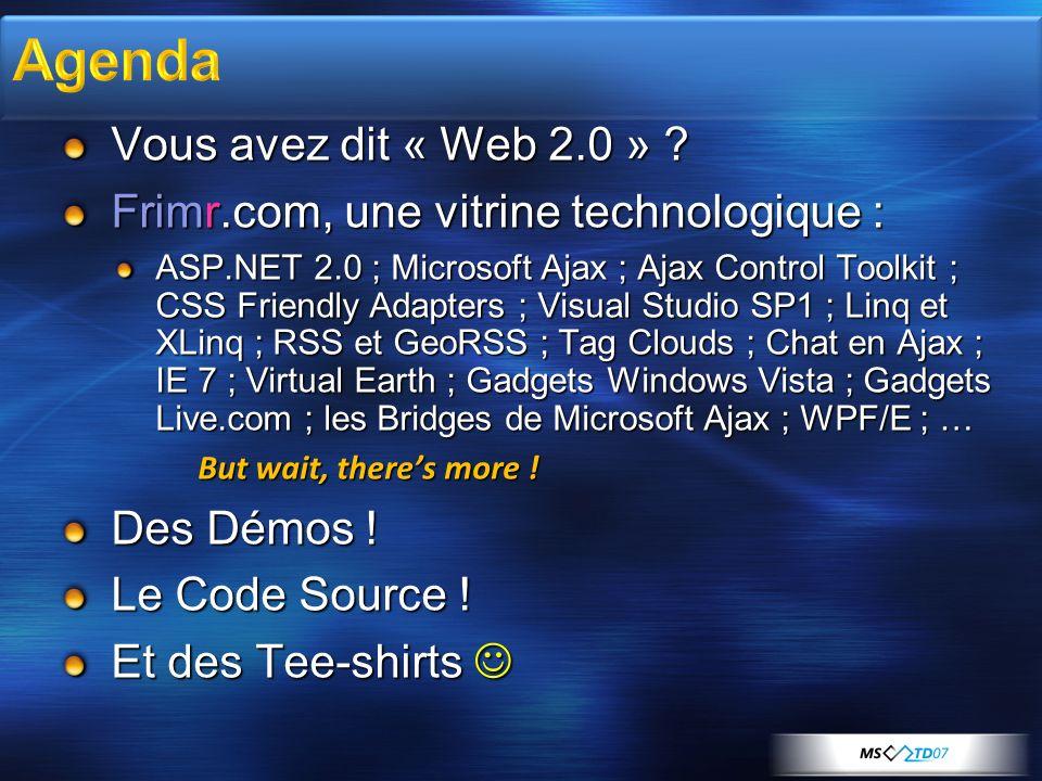 Source : Gartner, Juillet 2006 Web 2.0