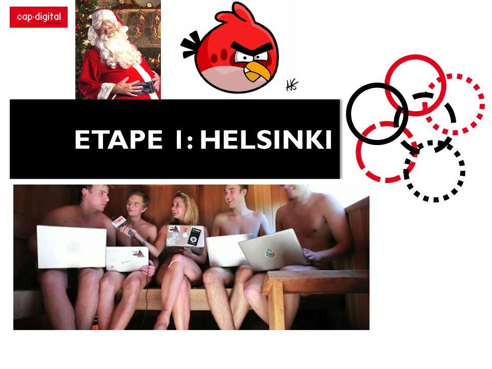 ETAPE 1: HELSINKI
