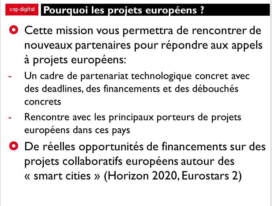 Pourquoi les projets européens .