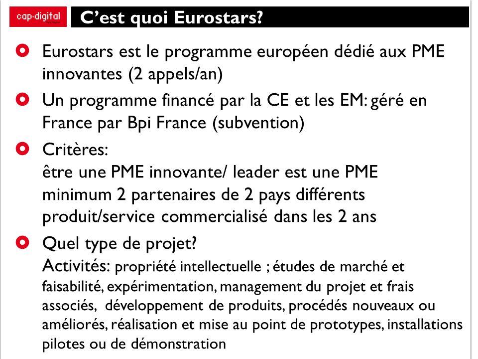 Cest quoi Eurostars.