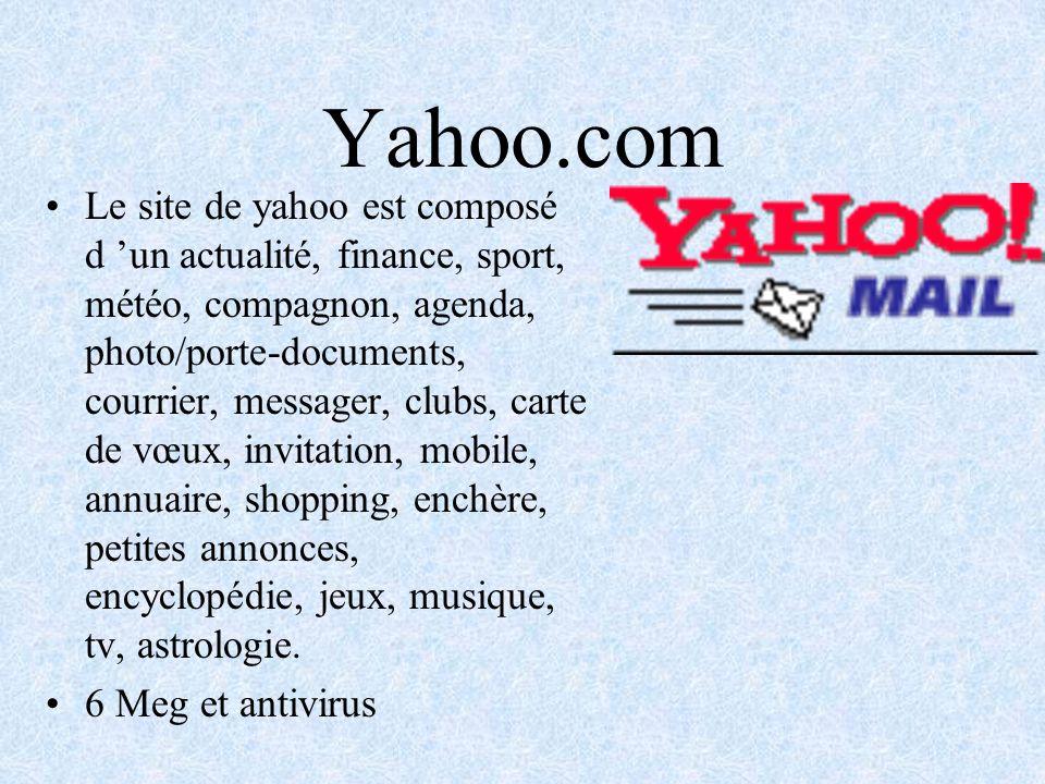 Francimel.com Le site de francité est constitué dun chat, rencontre, e- mail, shopping, recherche, page personnel.