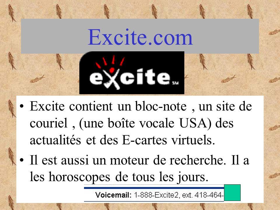 Le site moncourrier.com est connecté sur plusieurs autres sites comme branchez-vous, rencontrer, trouver et voyager.