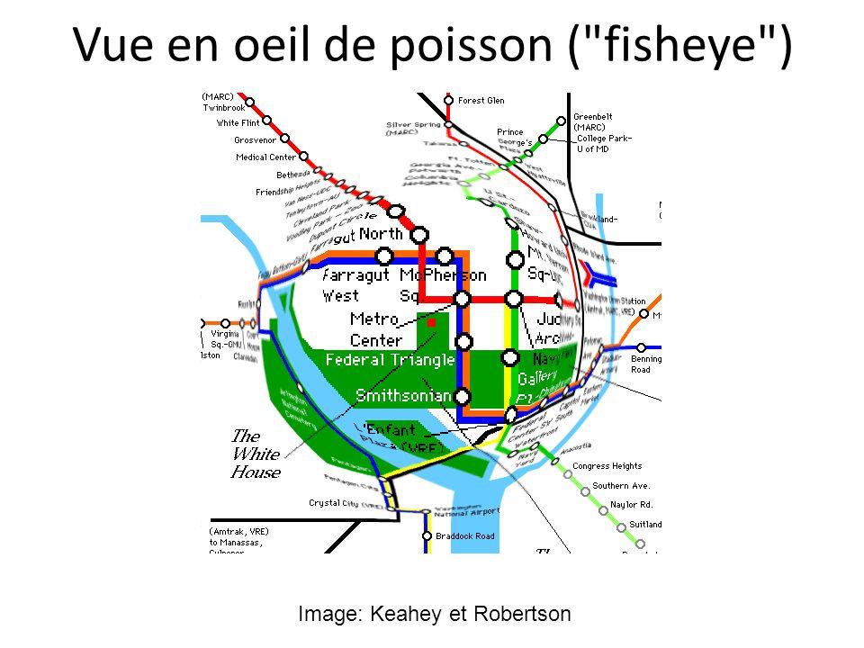 Vue en oeil de poisson (
