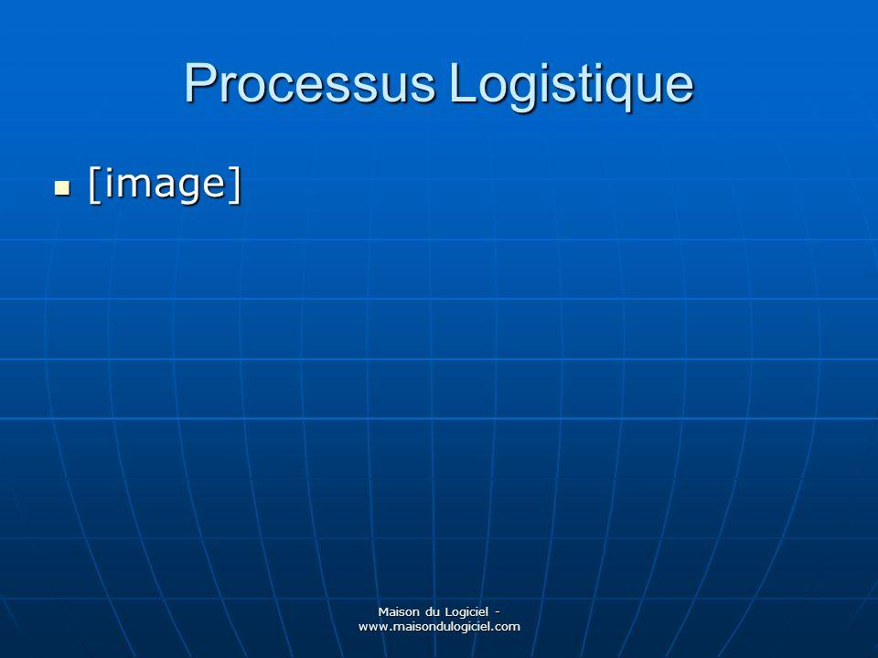 Maison du Logiciel - www.maisondulogiciel.com Processus Logistique [image] [image]