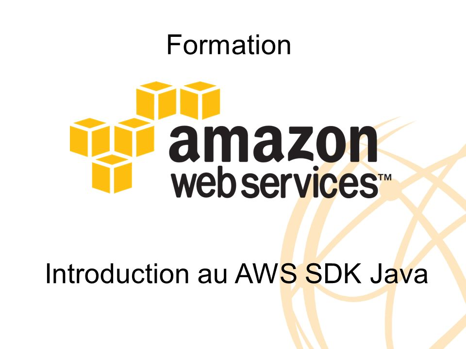 Formation Introduction au AWS SDK Java