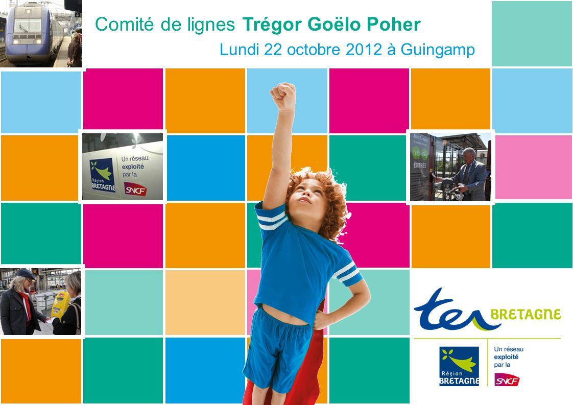 Comité de lignes Trégor Goëlo Poher Lundi 22 octobre 2012 à Guingamp
