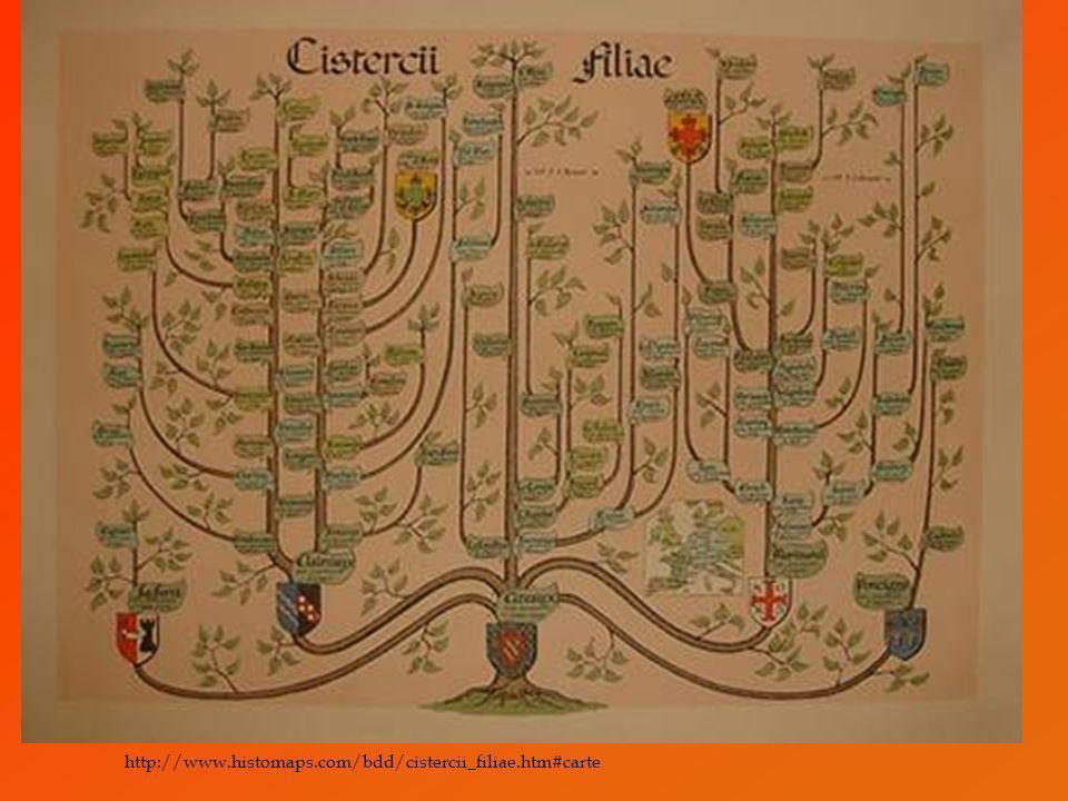http://www.histomaps.com/bdd/cistercii_filiae.htm#carte