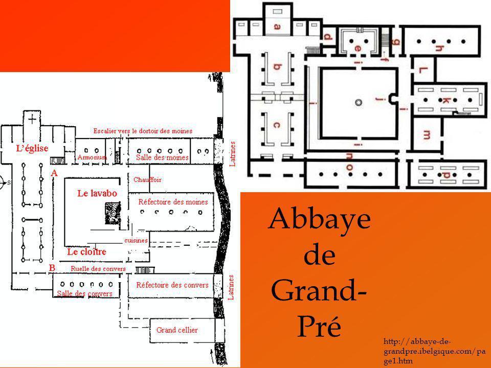 Abbaye de Grand- Pré http://abbaye-de- grandpre.ibelgique.com/pa ge1.htm