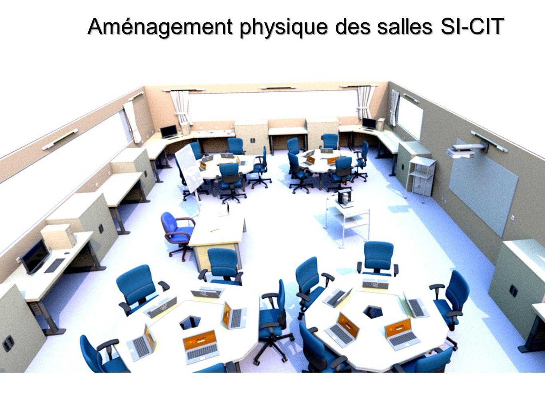 Aménagement physique des salles SI-CIT