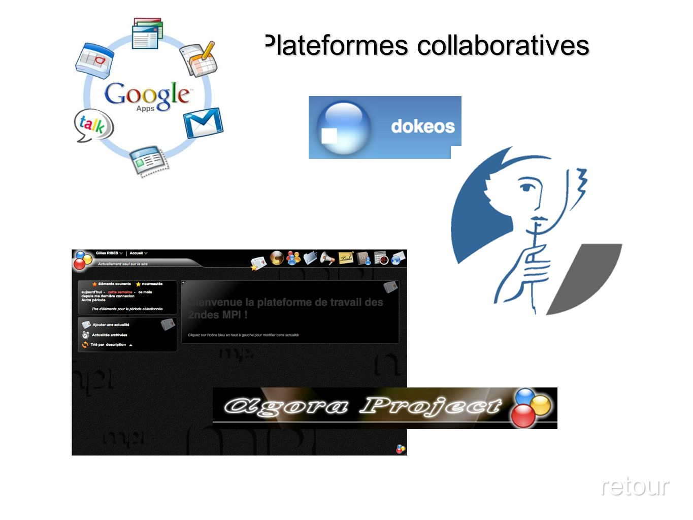 Plateformes collaboratives retour