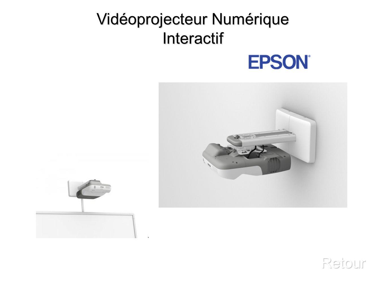 Vidéoprojecteur Numérique Interactif Retour