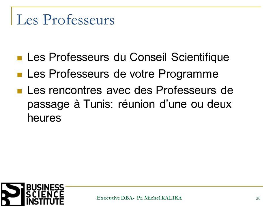 Les Professeurs Les Professeurs du Conseil Scientifique Les Professeurs de votre Programme Les rencontres avec des Professeurs de passage à Tunis: réu