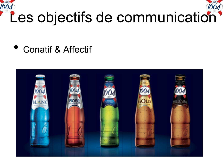 Les objectifs de communication Conatif & Affectif